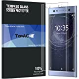 TopACE Full Screen Coverage 3D Anti-Scratch 9H Hardness Tempered Glass Screen Protector Film for Sony Xperia XA2 Ultra (Clear)