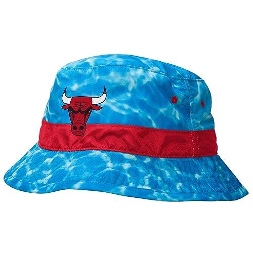 3b8d561dc58f1 ... ireland mitchell ness nba chicago bulls jordan sports surf camo ocean  summer bucket hat 30223 25ebb