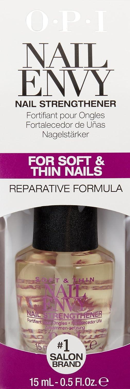Amazon.com: OPI Nail Envy Nail Strengthener, Soft and Thin, 0.5 fl ...