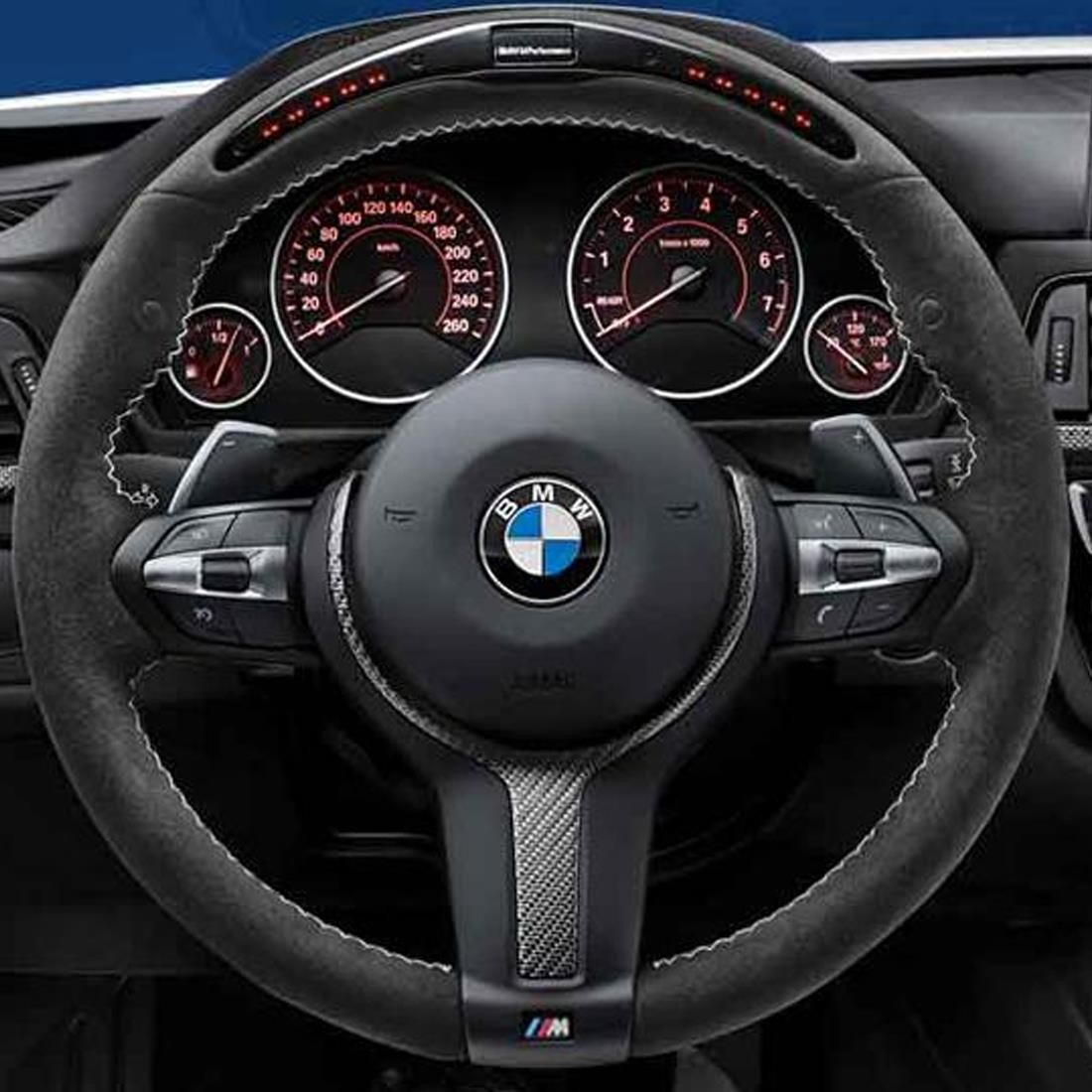 Verrassend Amazon.com: BMW M Performance Electronic Steering Wheel for Sport AY-17