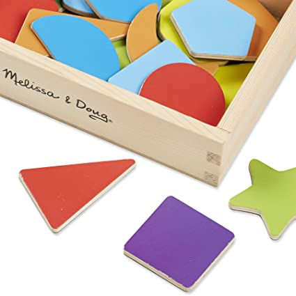 Wooden Shape Magnets: Skill Builders - Magnetic Activities ...