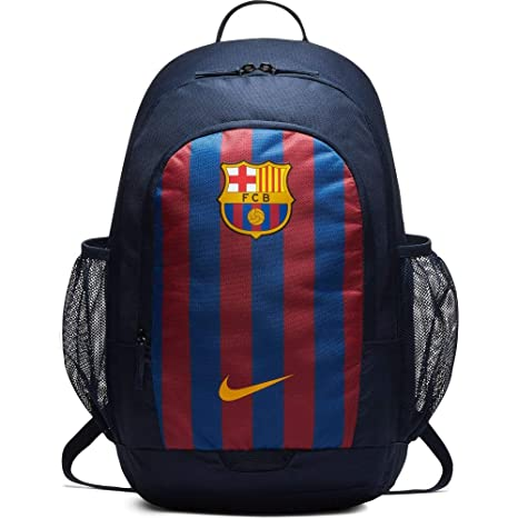 f161596680ad Nike Barcelona Stadium Soccer Navy Blue Backpack  Amazon.in  Bags ...
