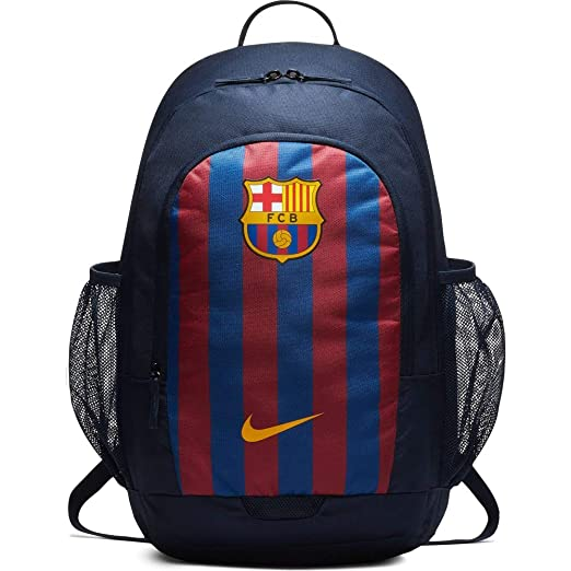 12eac4e43 Nike Barcelona Stadium Soccer Navy Blue Backpack: Amazon.in: Bags, Wallets  & Luggage