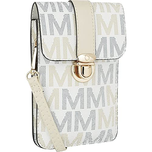 8cf2f0db4 MKF Collection by Mia K. Farrow Lulu M Signature Phone Wallet White Size: S