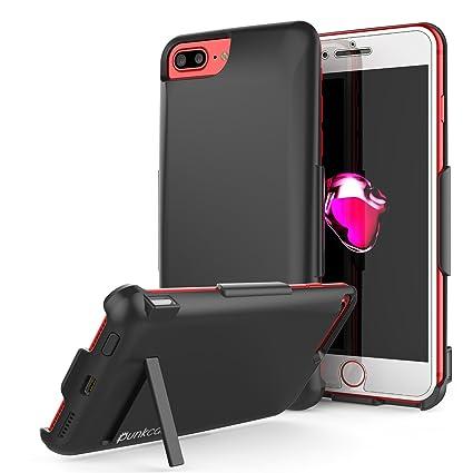 Amazon.com: iPhone 7 Plus Caso, punkcase 5000 mAh Cargador ...