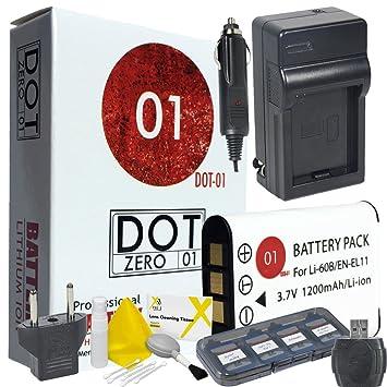 dot-01 marca 1200 mAh batería de recambio y cargador para ...