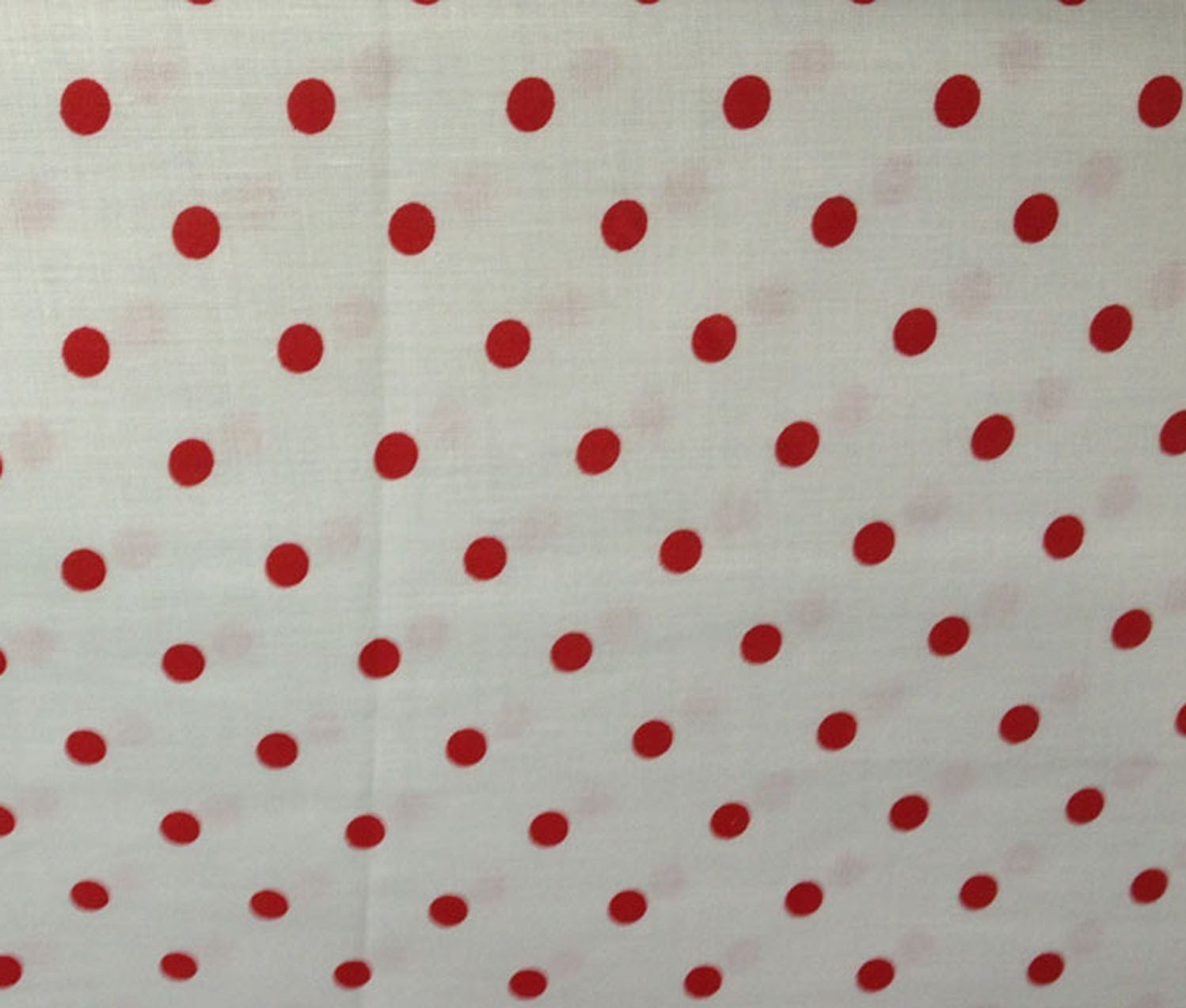 Small Polka Dot Poly Cotton Red Dots on White 58 Inch Fabric By the Yard (F.E.つ) by The Fabric Exchange   B00J3B5DFO