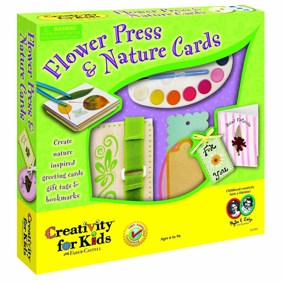creativity for kids flower press and nature card amazon co uk