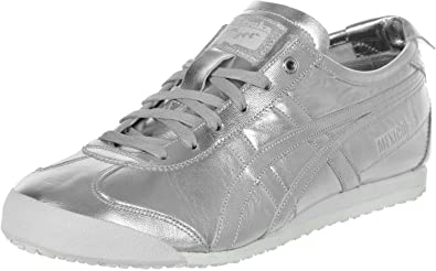 official photos ec2ef d94e7 Onitsuka Tiger Women's Trainers Silver Silber Silver Size: 3 ...