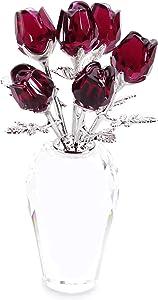 SWAROVSKI Crystal Red Roses