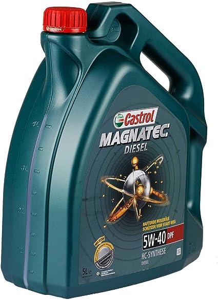 Castrol 151b71 Magnatec Dpf 5w40 4 Litre Engine Oil Green Auto