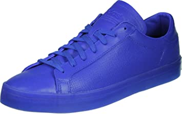 the latest b667b 9766f adidas Mens Courtvantage Adicolor S80252 Trainers, Blue, ...