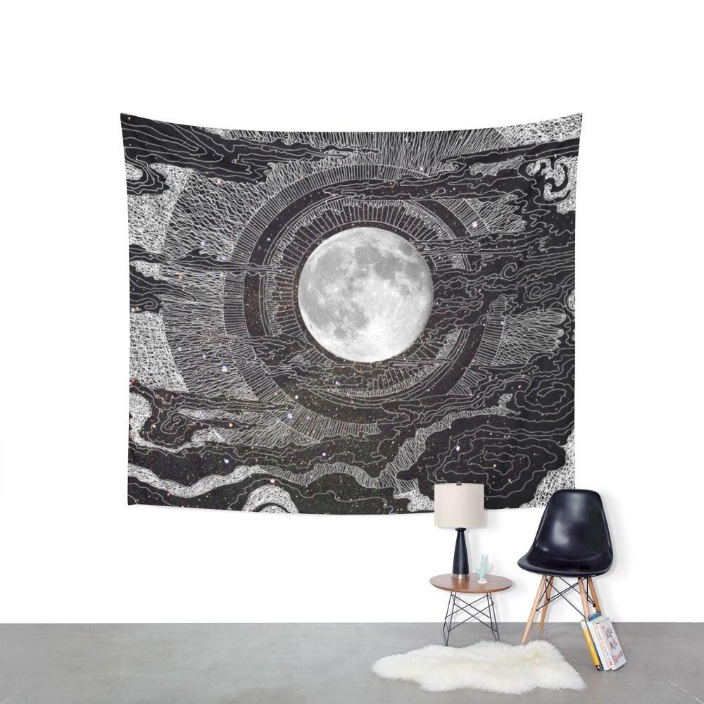 Amazon.com: Society6 Moon Glow Wall Tapestry Large: 88\