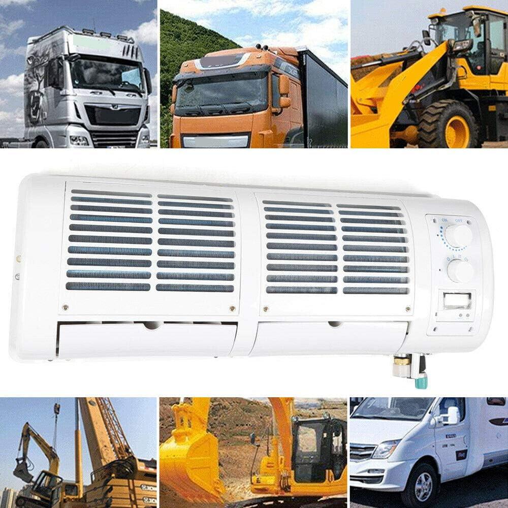 Enfriador de Aire Acondicionado de 200W 12V para Camión de Coche Caravana Autobús Aire acondicionado de Pared Kit de Ventilador de Enfriamiento de Aire Acondicionado
