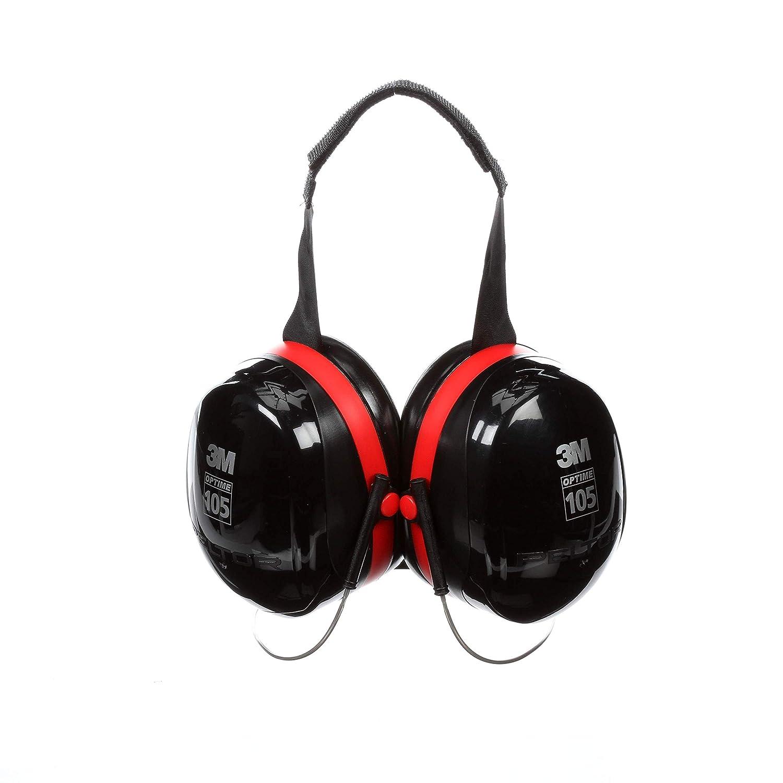 3M Peltor Optime 105 Behind-the-Head Earmuffs, Hearing Conservation H10B