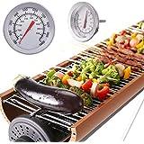 KING DO WAY Barbecue Termometro Acciaio Inossidabile Gauge Grill come l'imagine Diametro: 52mm