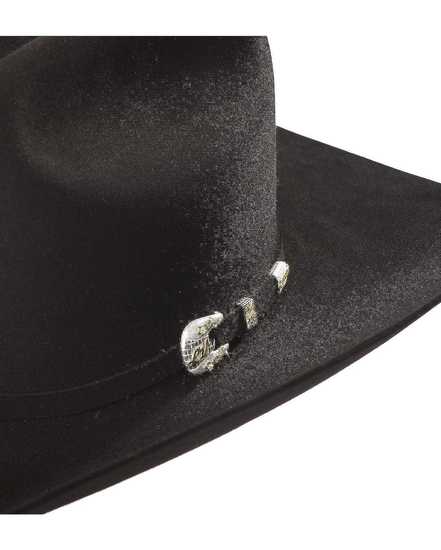 d6e8193d Larry Mahan Men's Imperial 1000X Felt Hat Black 7: Amazon.ca: Clothing &  Accessories