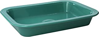 product image for Fiesta 9-Inch X 13-Inch Rectangle Baker, Turquoise