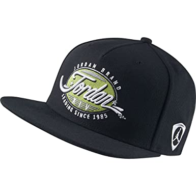 eeed6c6fad930 ... free shipping nike air jordan 14 retro basketball cap hat mens black  green 801775 010 one ...