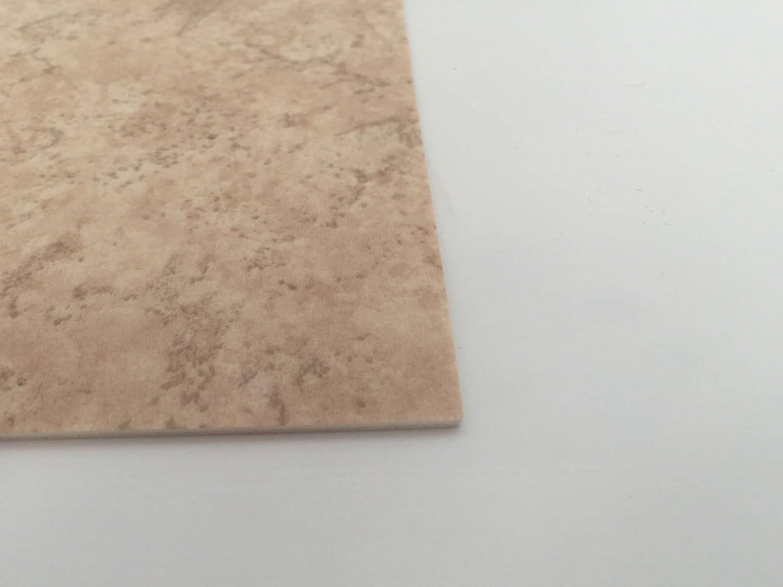 Made in Germany CV PVC-Belag verf/ügbar in der Breite 300 cm /& L/änge 400 cm PVC Vinyl-Bodenbelag in Marmor Optik CV-Boden wird in ben/ötigter Gr/ö/ße als Meterware geliefert /& trittschalld/ämmend