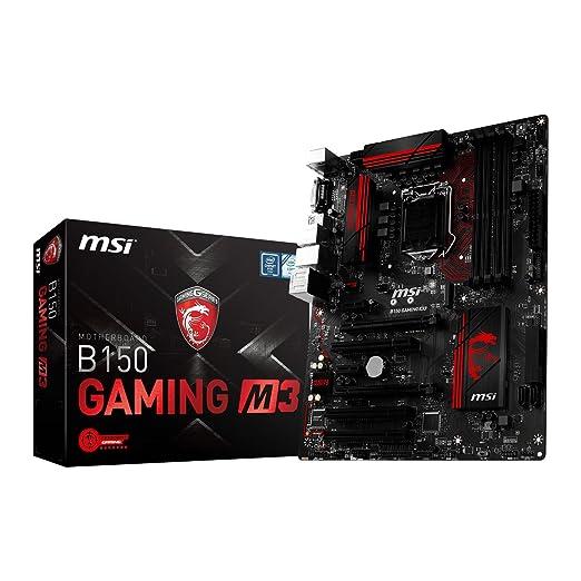 4 opinioni per MSI B150 Gaming M3 Scheda Madre, Nero/Rosso