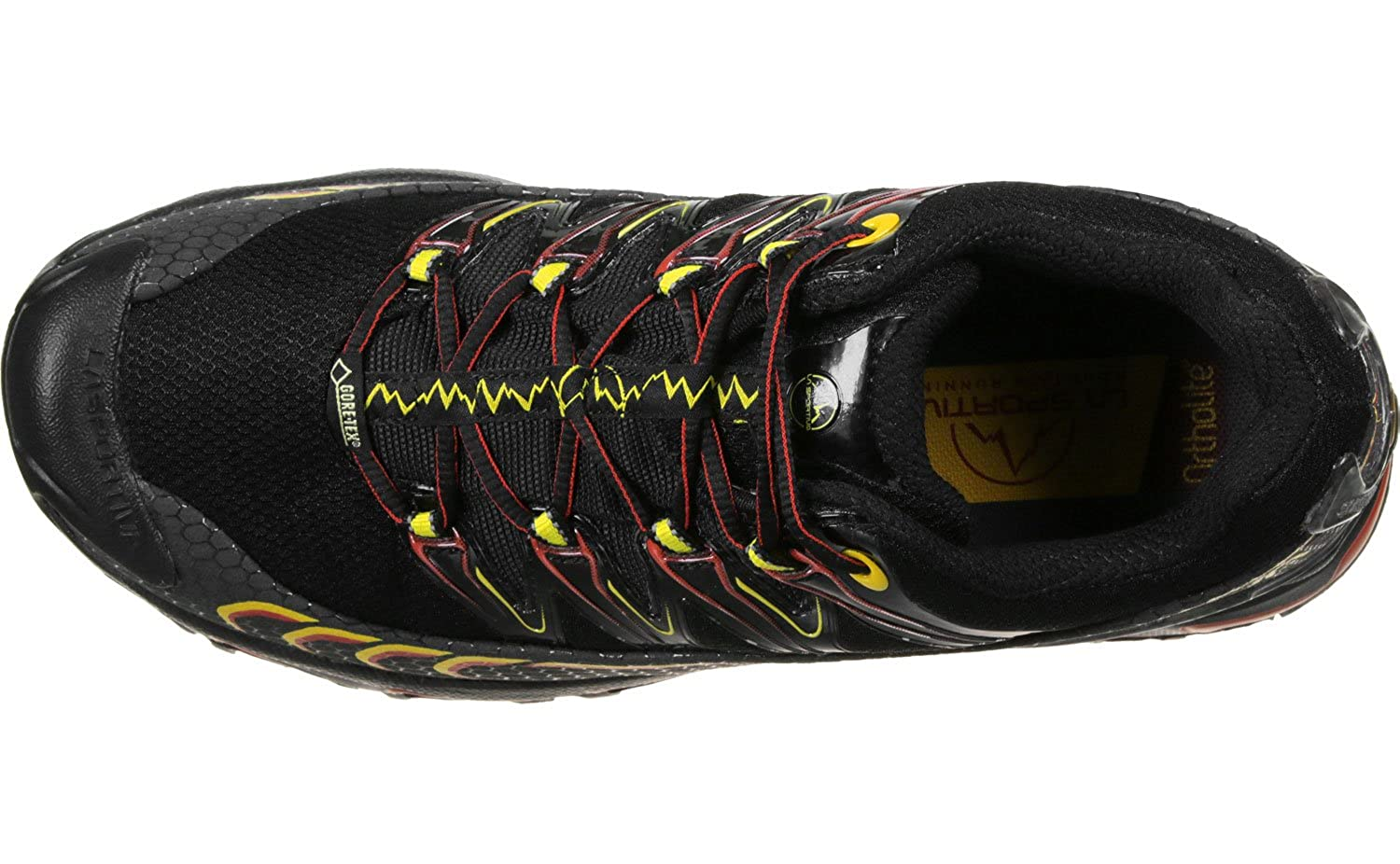 Zapatillas de Senderismo Unisex Adulto La Sportiva Ultra Raptor GTX Black//Yellow