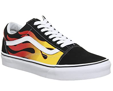 sports shoes 03b16 6fd87 Vans Schuhe Old Skool (Flame): Amazon.de: Schuhe & Handtaschen