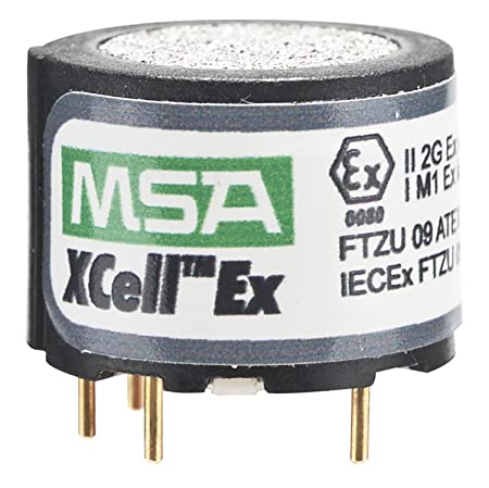 MSA 10106722 Combustible Gas and Methane Replacement Sensor with Alarms 5 60 LEL for Use with ALTAIR 4X 5X Multi-Gas Detector