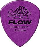 Jim Dunlop Tortex Flow Standard 72 Pack 1.14mm Purple