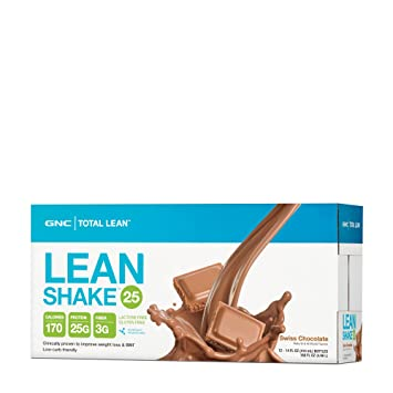 Amazon GNC Total Lean Shake With 25g Of Protein In Just 170