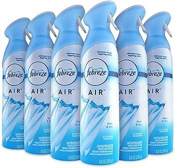6-Pack Febreze AIR Effects 8.8oz Linen & Sky Air Freshener