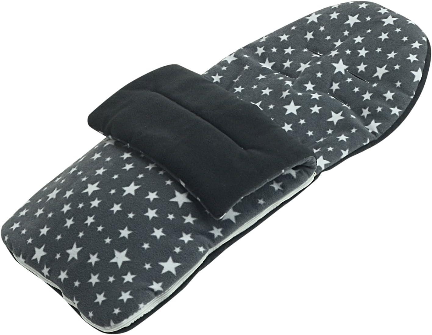 Forro polar saco compatible con Bebecar Stylo/ /gris Star