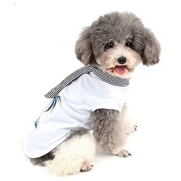 Zunea - Camiseta Hawaiana para Perro pequeño, Playera de Verano y ...