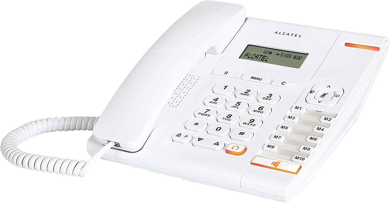 Alcatel Temporis 580 - Teléfono Fijo, Color Blanco