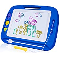 SGILE 13X16 Non-Toxic Big Magnetic Erasable Magna Doodle Toy Drawing Board