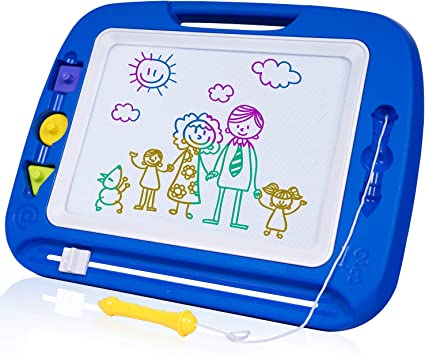 Kids Non-Toxic Magnetic Drawing Board Writing Painting Sketching Pad Toy Gift