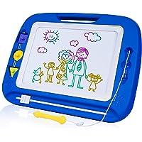SGILE Pizarra Magnética Infantil, Grande Color Magnético Doodle