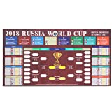 Amazon Price History for:Beyond Russia 2018 World Cup Poster, Great Soccer Matches World Cup Schedule Wall Chart 2018, Wall Decoration for Football Soccer Fans - 32 X 16 Inches