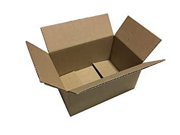 200 X Cajas de Cartón 260 x 170 x 120 * 26 x 17 x 12 de ...