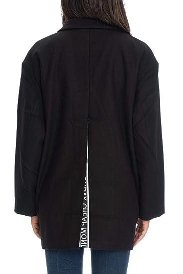 Cheap Monday Cappotto Corto Donna Nero  Amazon.it  Abbigliamento a8abab35367