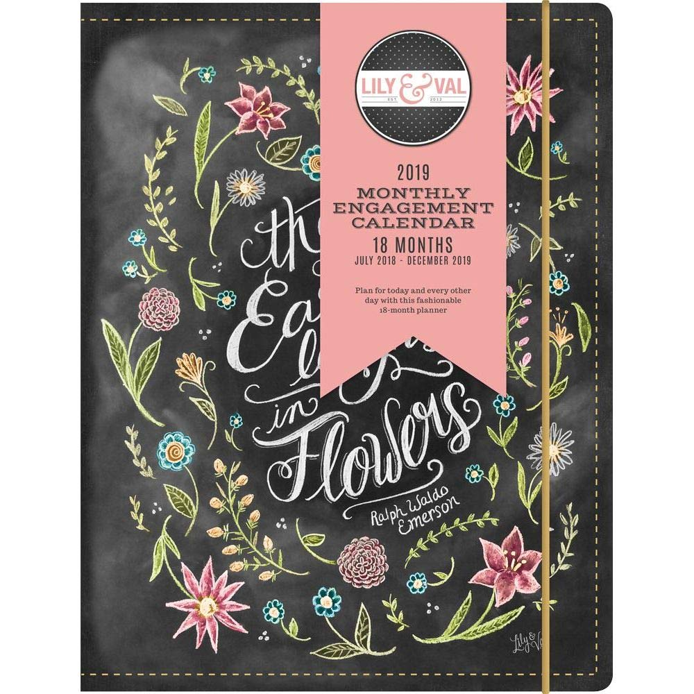 2019 Summit Studios Lily and Val Planner, Monthly Planners by Leap Year Publishi