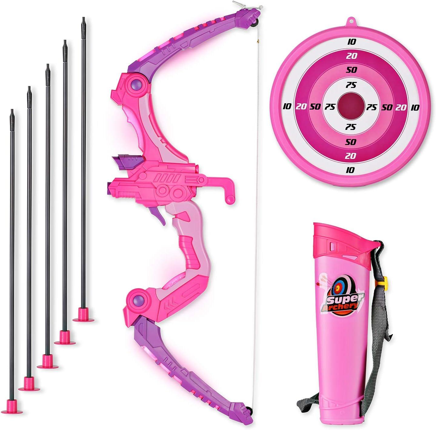 SainSmart Jr. Arco Set niños Tiro con Arco Juegos con 5 Flechas de ...