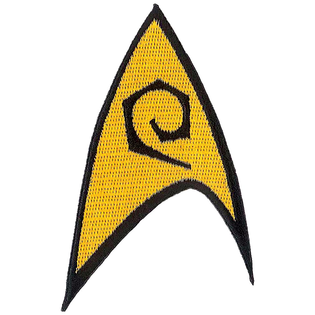 Star Trek Engineering Iron On Patch Superheroes 61017ST