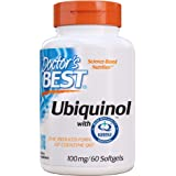 Doctor's Best Ubiquinol with Kaneka QH, Non-GMO, Gluten Free, Soy Free, Heart Health, 100 mg, 60 Softgels