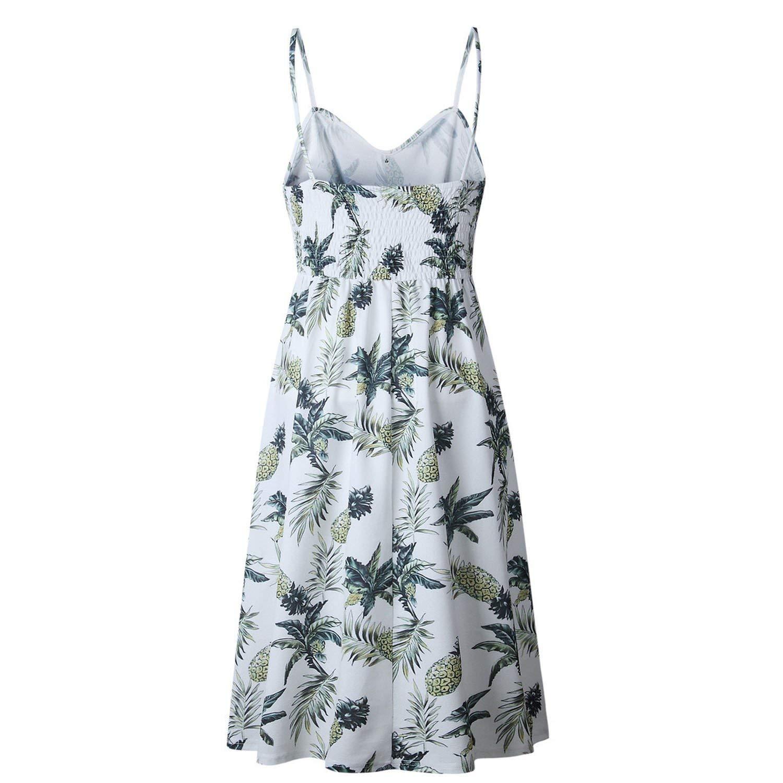 Button Decorated Print Dress Off-Shoulder Party Sundress Long Dresses Plus Size