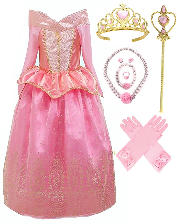 SweetNicole Aurora Princess Costume (2-3, Style 1)