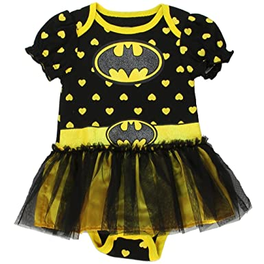 Batgirl Infant Baby Girls Dress Up Tutu Creeper Onesie Bodysuit (0-3 mo  sc 1 st  Amazon.com & Amazon.com: Batgirl Infant Baby Girls Dress Up Tutu Creeper Onesie ...