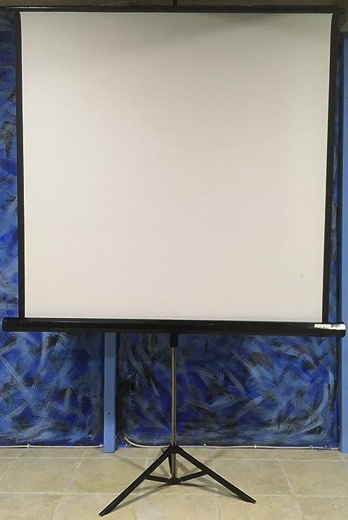 Toalla pantalla Videoproyector Proyector toalla Proyección 65 ...