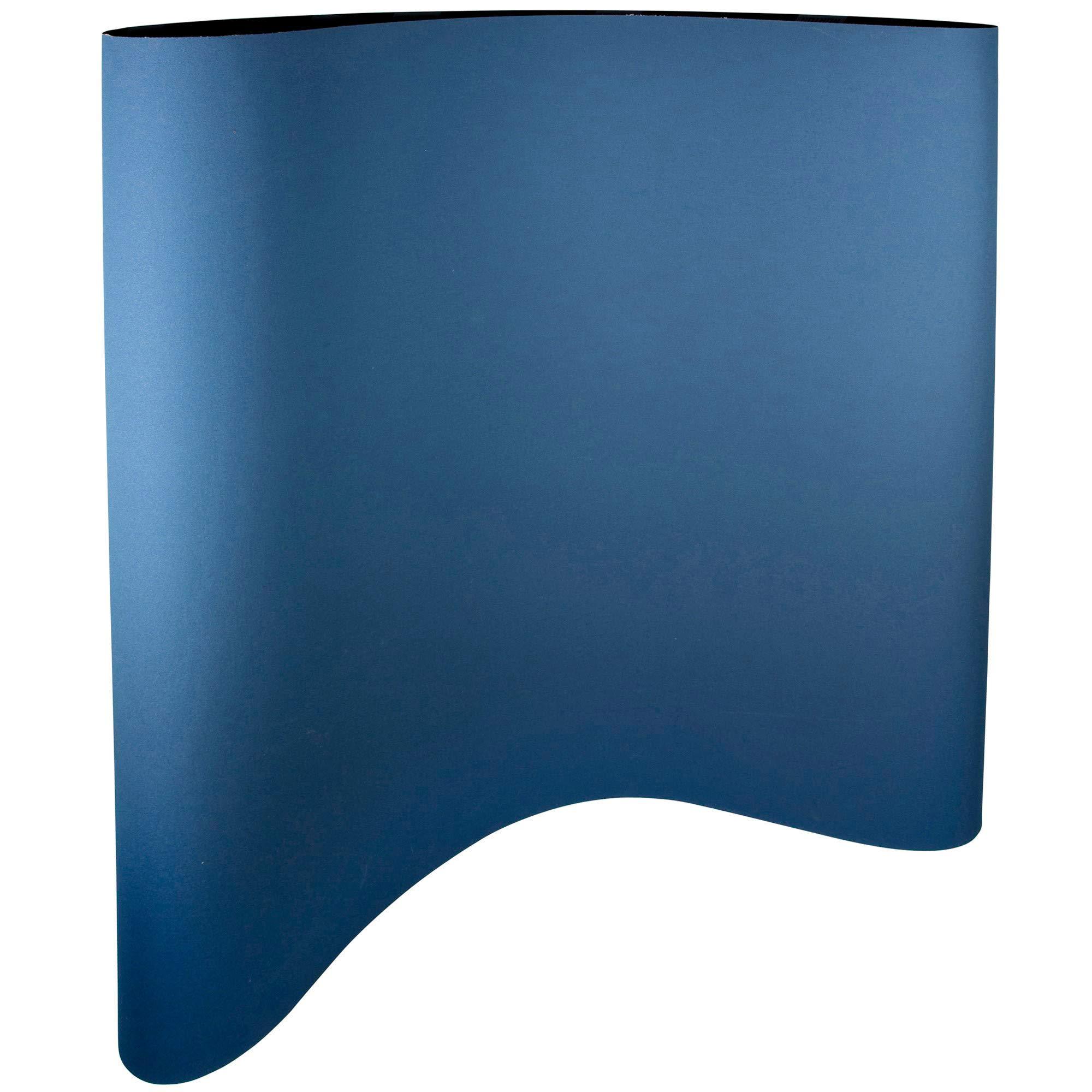 Norton BlueFire R823P Cloth Abrasive Belt, Waterproof, Polyester Backing, Zirconia Alumina, 37'' Width, 60'' Length, Grit 100 (Pack of 5)