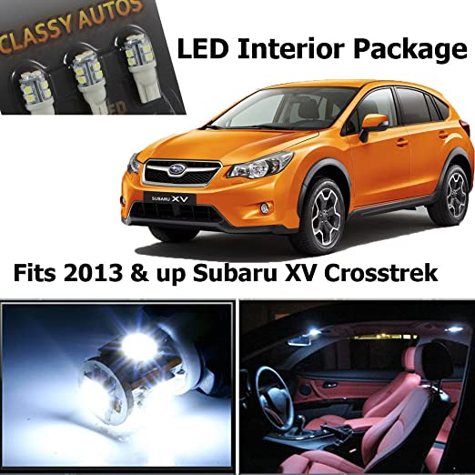 Amazon Classy Autos Subaru Xv Crosstrek White Interior Led: 2018 Subaru Crosstrek Fuse Box Storage At Bitobe.net